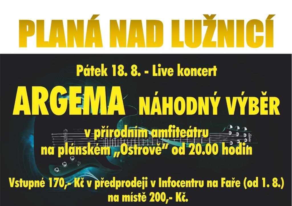 Koncert Argemy a NV