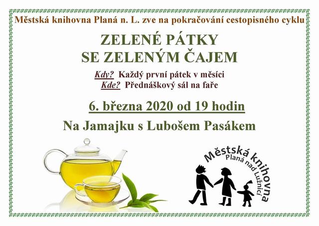 Zelený pátek se zeleným čajem