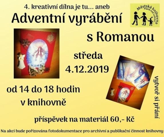 Adventní vyrábění s Romanou