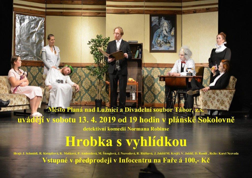 Divadelní představení Hrobka s vyhlídkou