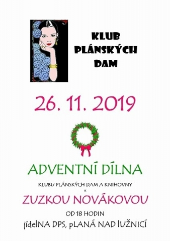 Adventní dílna 26.11.2019