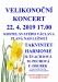 Pondělí 22. 4. - Velikonoční koncert v kostele svatého Václava