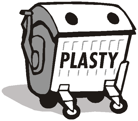 kontejner na plasty